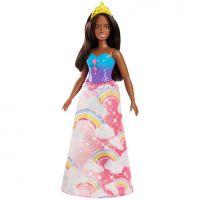 Mattel Barbie Princezna černoška duhová