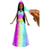 Mattel Barbie Princezna Magické vlasy Brunetka