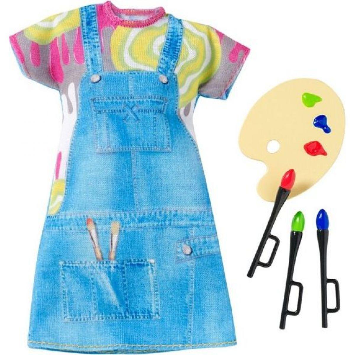 Mattel Barbie profesní oblečení DNT93 Malířka