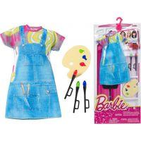 Mattel Barbie profesní oblečení DNT93 Malířka 3