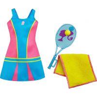Mattel Barbie profesní oblečení DNT95 Tenistka