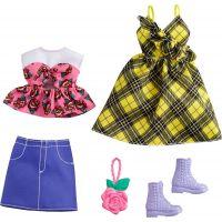 Mattel Barbie Sada oblečení Šaty s hvězdným potiskem GRC83