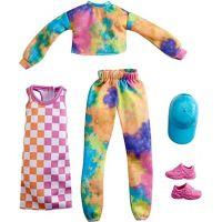 Mattel Barbie Sada oblečení Šaty s hvězdným potiskem GRC84