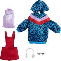 Mattel Barbie Sada oblečení Šaty s hvězdným potiskem GRC86
