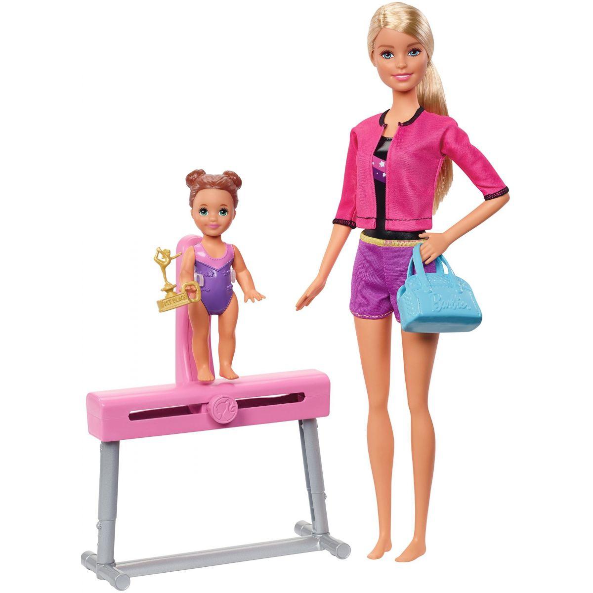 Mattel Barbie Sportovní sada gymnastka