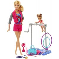Mattel Barbie sportovní set Gymnastka