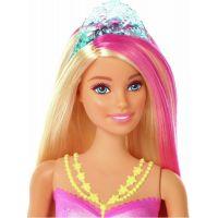 Mattel Barbie svítící mořská panna s pohyblivým ocasem běloška 4