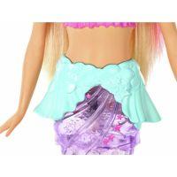 Mattel Barbie svítící mořská panna s pohyblivým ocasem běloška 6