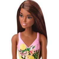 Mattel Barbie v plavkách černoška GHW39 4