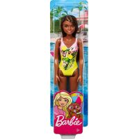 Mattel Barbie v plavkách černoška GHW39 6