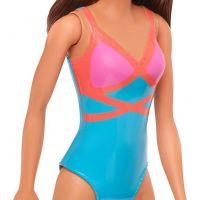 Mattel Barbie v plavkách hnědovláska  GHW40 5