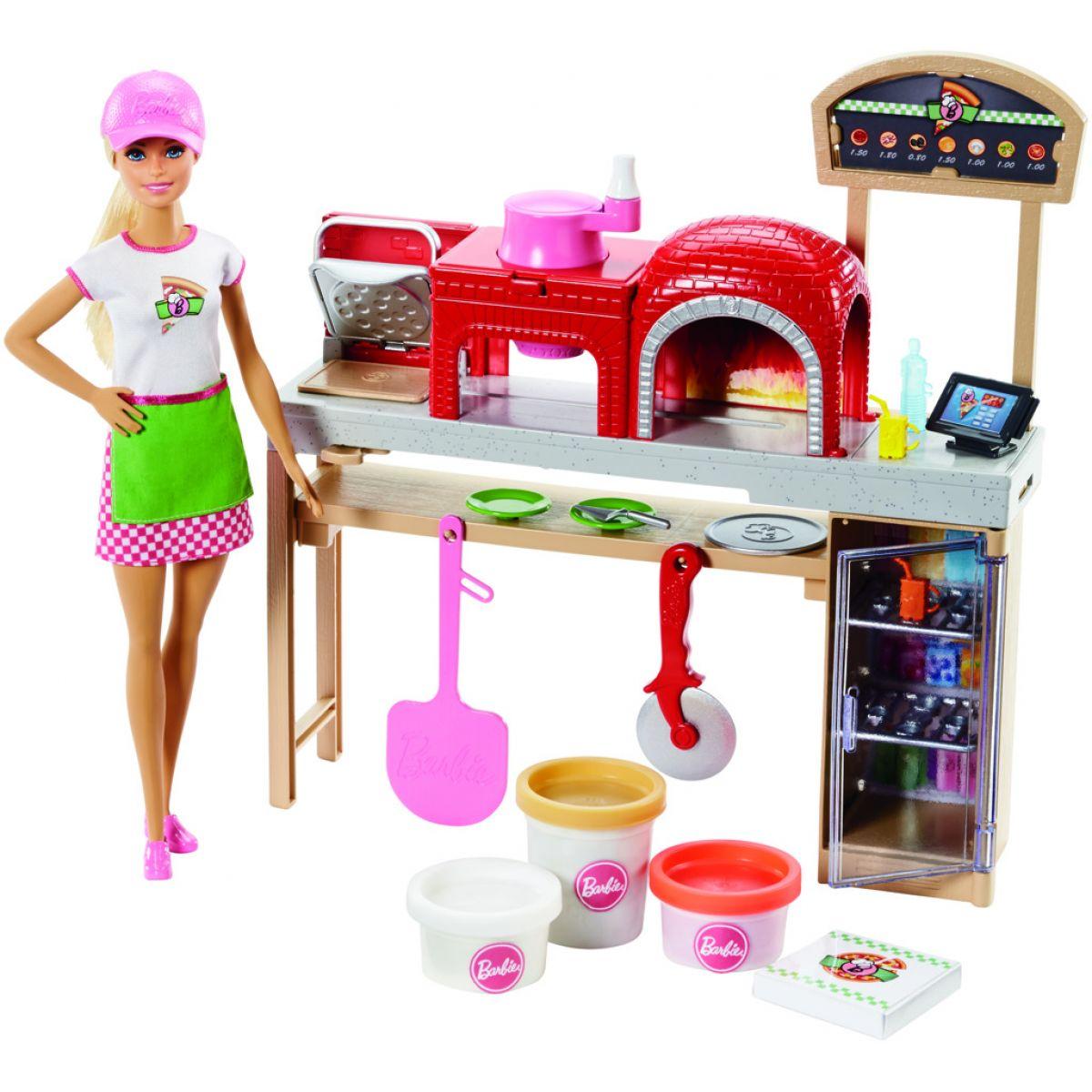 Mattel Barbie Vaření a pečení Pizza s panenkou