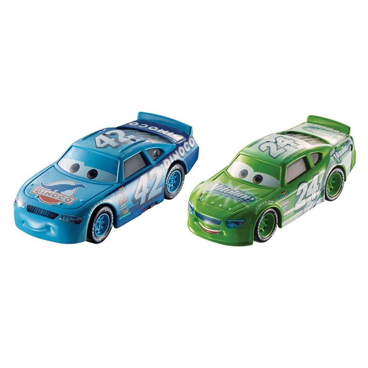Mattel Cars 3 auta 2 ks Brick Yardley a Cal Weathers