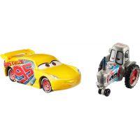 Mattel Cars 3 auta 2 ks Bumper Racing Tractor a Rrust-Eze Cruz Ramírez