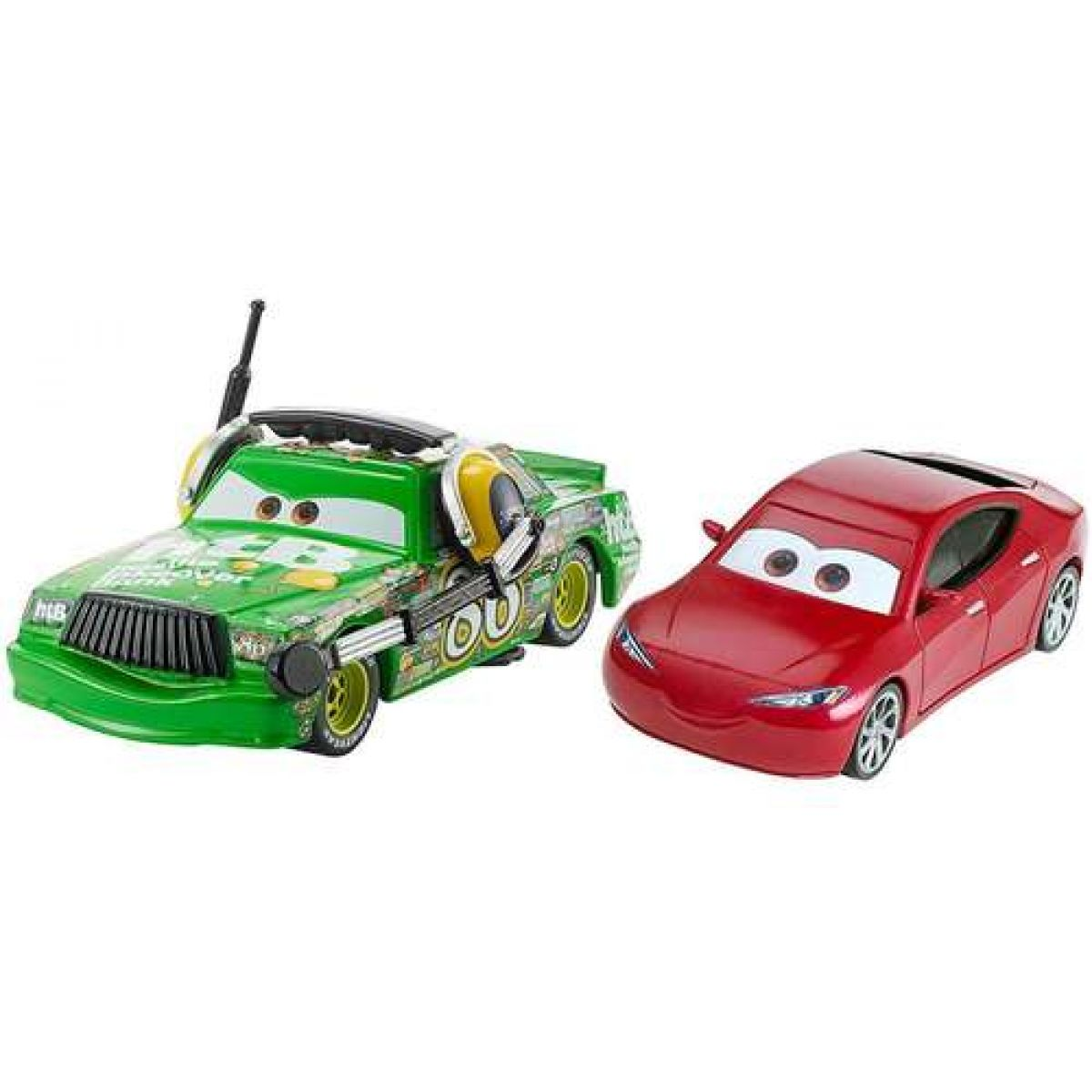 Mattel Cars 3 auta 2 ks Chick
