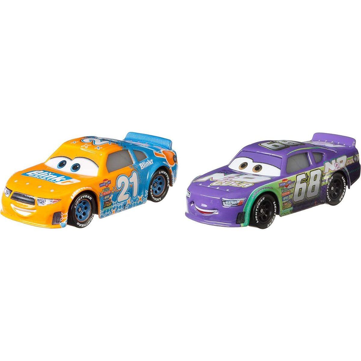 Mattel Cars 3 autá 2 ks Speedy Comet a Parker Brakeston