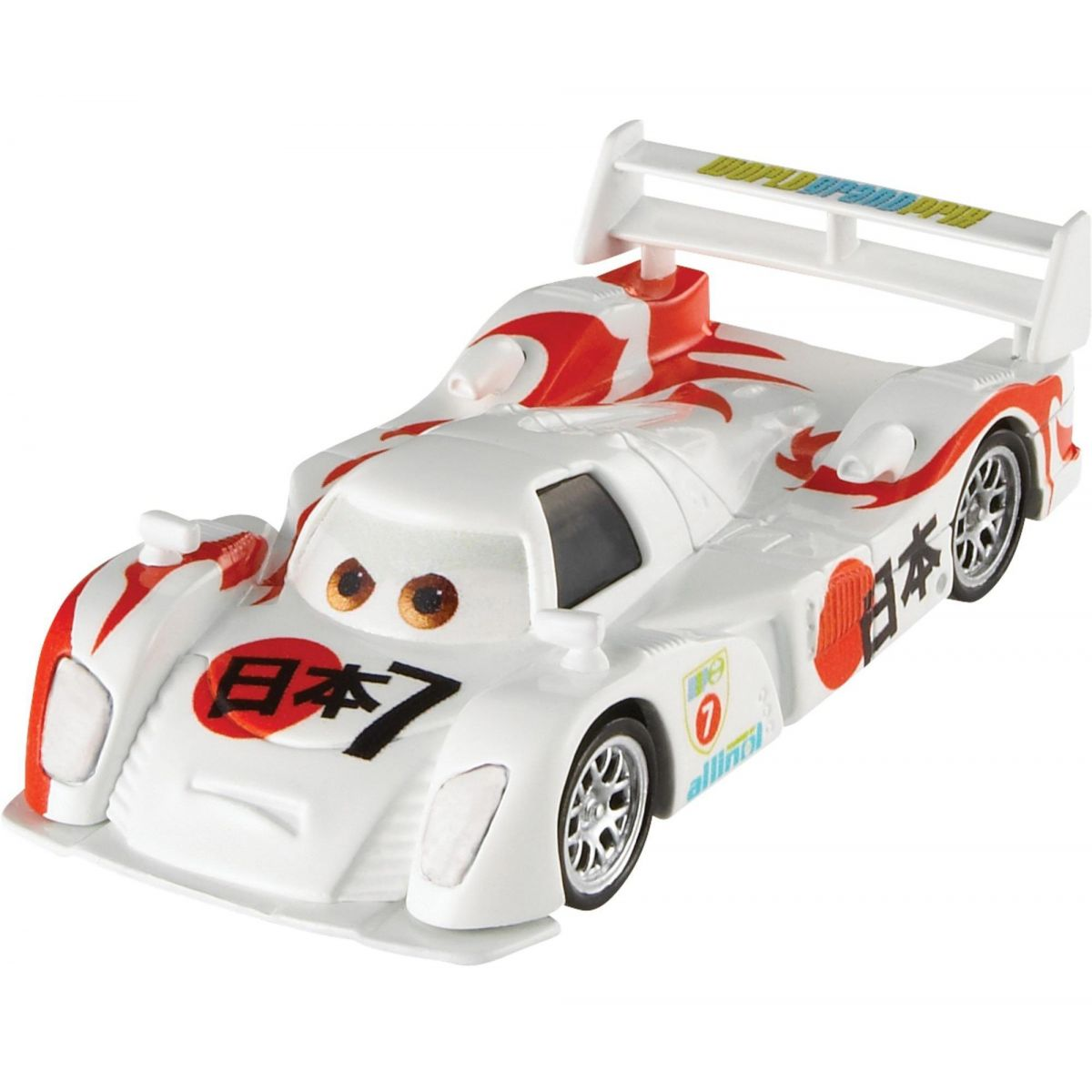 Mattel Cars 3 Auta Shu Todoroki