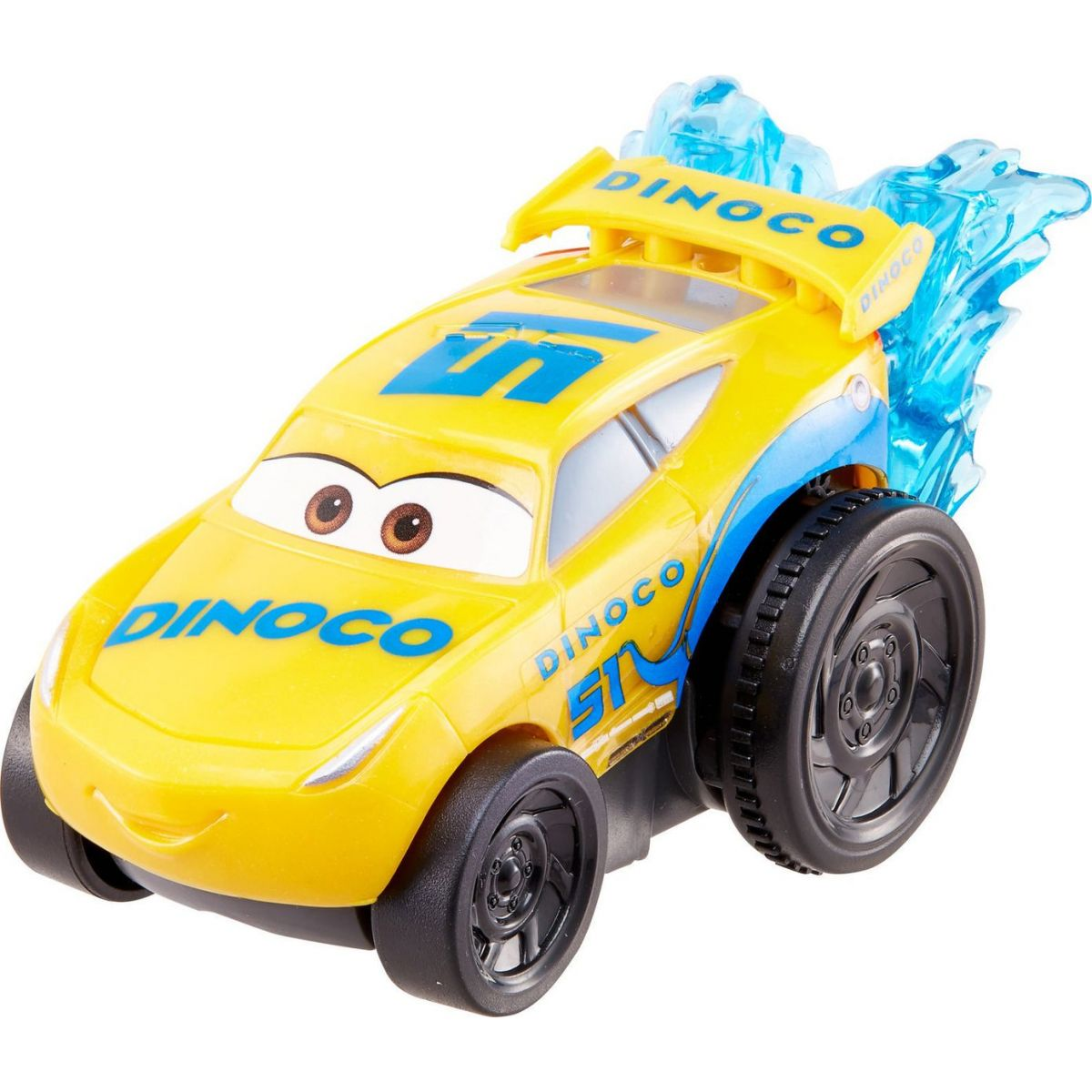 Mattel Cars 3 auto do vody Dinoco Cruz Ramirez