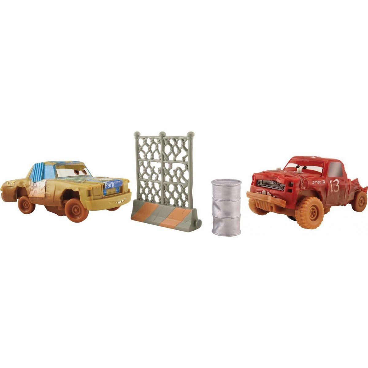 Mattel Cars 3 Bláznivá auta 2 ks T-Bone