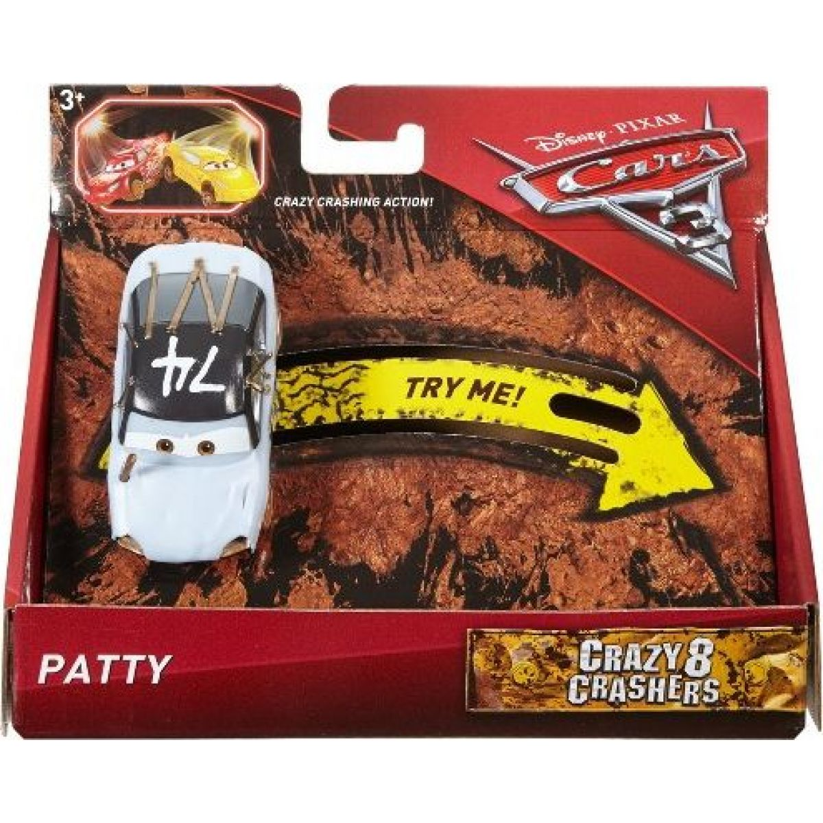 Mattel Cars 3 Bláznivé auto Patty