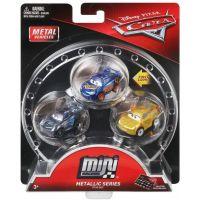 Mattel Cars 3 Mini auta 3ks lesklé
