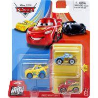 Mattel Cars 3 mini auta metal 3ks Dinoco Wraps Series
