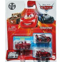Mattel Cars 3 mini auta metal 3ks Racing Red
