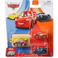 Mattel Cars 3 mini auta metal 3ks Florida 500 Rivalry Series