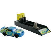 Mattel Cars 3 Vystřelovač s autíčkem Floyd Mulvihill