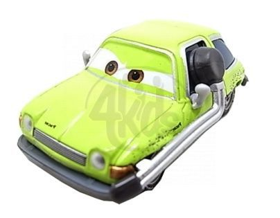 Mattel Cars 2 Auta - Acer with headset