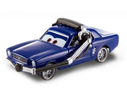 Mattel Cars 2 Auta - Brent Mustangburger with headset