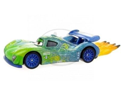 Mattel Cars 2 Auta - Carla Veloso with flames