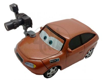 Mattel Cars 2 Auta - Cora Copper