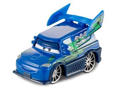 Mattel Cars 2 Auta - DJ With Flames