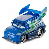Mattel Cars 2 Auta - DJ With Flames