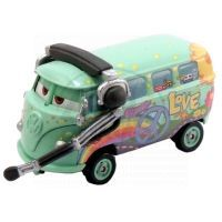 Mattel Cars 2 Auta - Fillmore with headset
