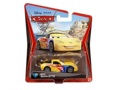 Mattel Cars 2 Auta - Jeff Gorvette