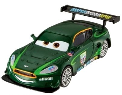 Mattel Cars 2 Auta - Nigel Gearsley