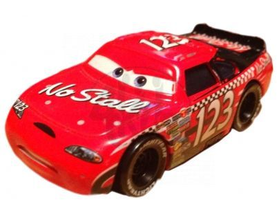 Mattel Cars 2 Auta - No Stall No.123