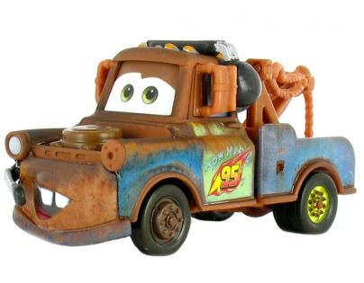 Mattel Cars 2 Auta - Race Team Mater with headset