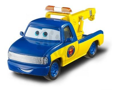 Mattel Cars 2 Auta - Race Tow Track Tom