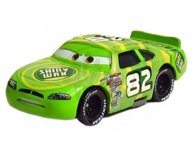Mattel Cars 2 Auta - Shiny Wax No.82