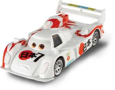 Mattel Cars 2 Auta - Shu Todoroki