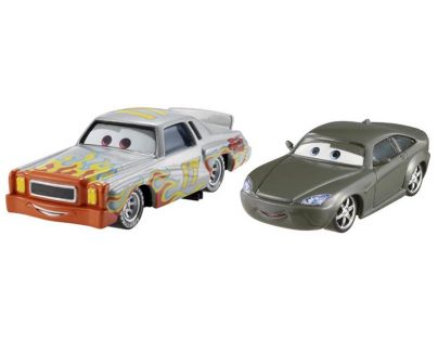 Mattel Cars 2 Autíčka 2ks - Bob Cutlass a Darrell Cartrip