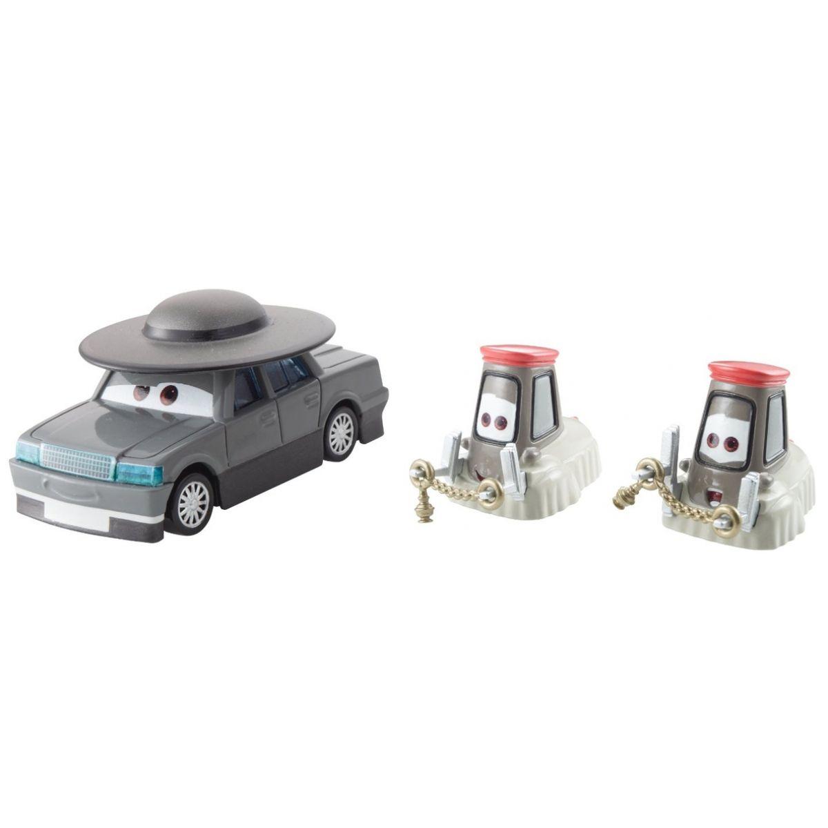 Mattel Cars 2 Autíčka 2ks - Father Burke a Cardinal Antonio