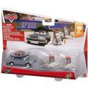 Mattel Cars 2 Autíčka 2ks - Father Burke a Cardinal Antonio 2