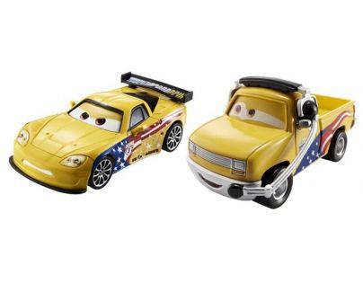 Mattel Cars 2 Autíčka 2ks - John Lassetire a Jeff Gorvette