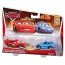 Mattel Cars 2 Autíčka 2ks - McQueen a Sally 2