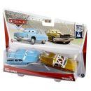 Mattel Cars 2 Autíčka 2ks - Mrs. The King a Tex Dinoco 2