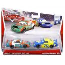 Mattel Cars 2 Autíčka 2ks - Sputter Stop a Gasprin 2